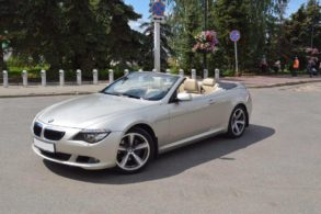 BMW 6 Cabrio Аренда Казань
